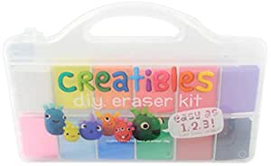 OOLY is now newly OOLY, Creatibles DIY Erasers, Set of 12 (161-001)