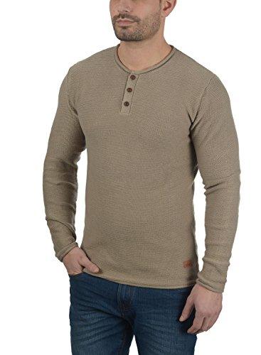 Rebel Pullover 100 Redefined Maglieria Faded Milford Cotone In Da Abbottonatura Brown Uomo Maglione tOtqZdw