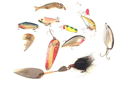 Lot of Fishing Lures - New and Vintage Lot of Fishing Lures (11 Items)