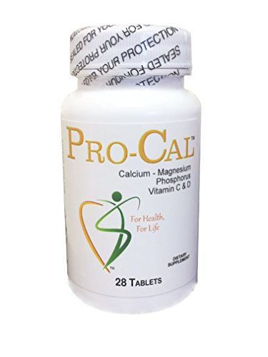 Pro-Cal Tablets - (dietary supplement) - restless leg syndrome? muscle cramps? tension headaches? (28)