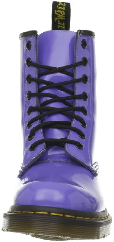 Blue Unisex Adulto Patent dusty Blu Dr Stivaletti Martens 1460 Px86qvO