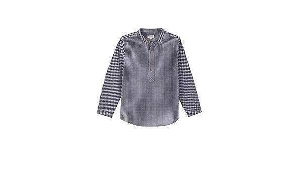 Gocco Camisa Cuadros Vichy Seersuker Gris Shirt para Niños ...