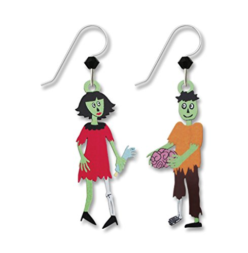 Sienna Sky Zombie Couple Earrings 1979 - Spirit Halloween New Orleans