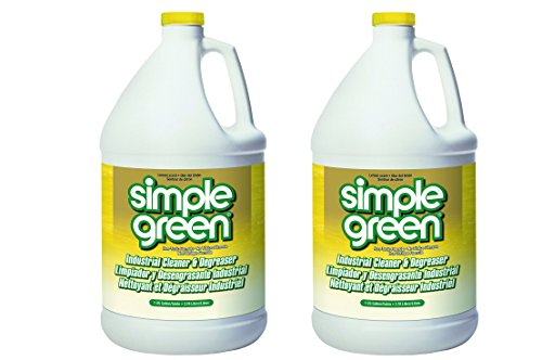 Simple Green 14010 Industrial Cleaner and Degreaser, Concentrated, Lemon, 1 Gal Bottle (Pack of - Concentrated Degreaser
