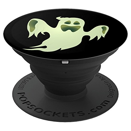 BOO SPOOKY GHOST HALLOWEEN - PopSockets Grip and Stand for Phones and Tablets