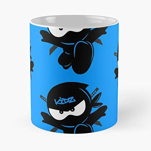 Ninja Kidz Tv Classic Mug - Funny Sophisticated Design Great Gifts -11 Oz Coffee Mug.the Best Gift For Holidays Forcetee.
