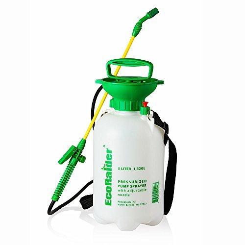 EcoRaider Pressurized Piston Pump Sprayer, 1.5 gallon by EcoRaider