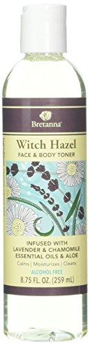 Bretanna Witch Hazel Toner Lavender Chamomile, 8.75