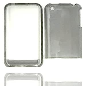 ACCESSORY HARD SNAP-ON CASE COVER FOR APPLE IPHONE 3G 3GS TRANS CLEAR SMOKE