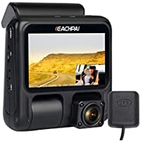 Eachpai Dual Recording 1080p LCD Dash Cam with Sony Sensor Super Capacitor