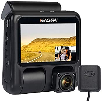 Eachpai Dual Recording 1080p LCD Dash Cam