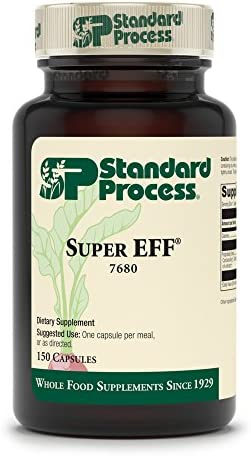 Standard Process – Super-Eff – Supports Nervous System, Cellular Health, and Energy Production, Tillandsia usneoides – 150 Capsules
