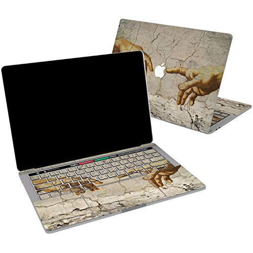 - Lex Altern Vinyl Skin for MacBook Air 13 inch Mac Pro 15 Retina 12 11 2019 2018 2017 2016 2015 Michelangelo Painting Aesthetic Creation of Adam Laptop Cover Keyboard Decal Sticker Touch Bar Design