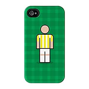 Torquay Full Wrap High Quality 3D Printed Case for iPhone 4 / 4s by Blunt Football + FREE Crystal Clear Screen Protector