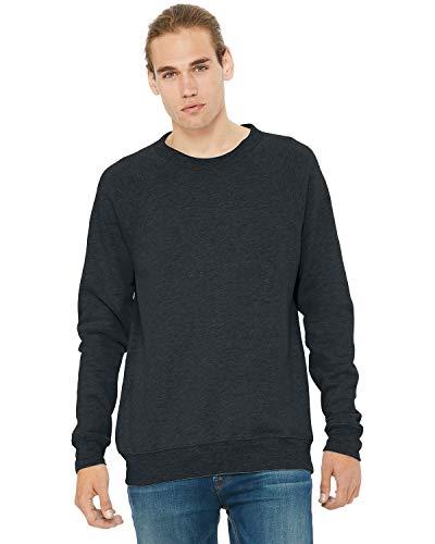 Bella Hooded Sweatshirt - Bella + Canvas Womens Zipper All-Season Fleece Hoodie (3901) -Dark Grey -M