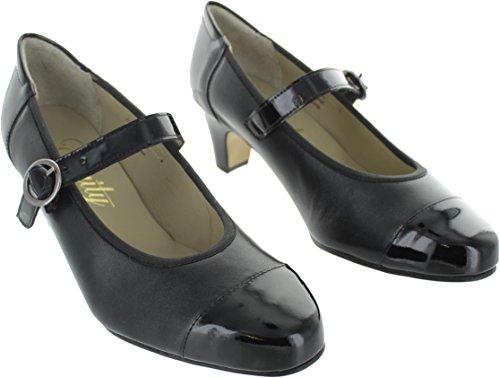 Equity Women's Charlie Leather Court Shoes Cx4oaYVi