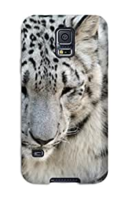 Galaxy Case Cover Fashionable Galaxy S5 Case Snow Leopard