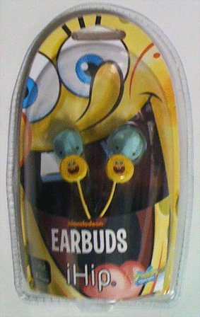 IHIP SPONGEBOB EAR PHONES