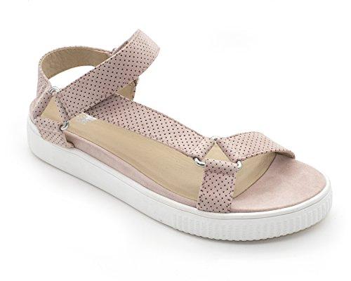Sandal Shoe Women's Jade Blush the Jane and Suede Faux nZq7xTTg