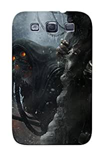 New Tpu Hard Case Premium Galaxy S3 Skin Case Cover(colorful Year Of The Tiger)