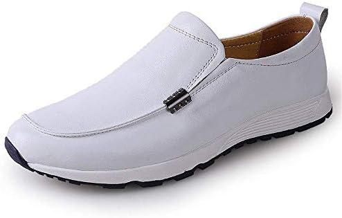 Oudan Mocasines para Hombre Zapatos, Mocasines de conducción para Hombres Mocasines Bare Vamp Botas Casuales Mocasines con Suela de Goma Suave Forrada ...