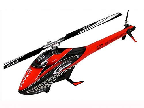 SAB Goblin 380 Flybarless Electric Helicopter Red/Black Kit (Flybarless Electric Helicopter)