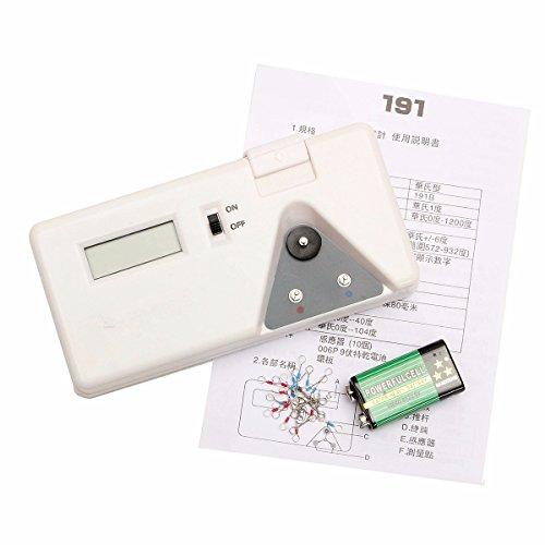 KISENG 191 Soldering Iron Tip Thermometer Sensor Line Digital Tester Temperature Test