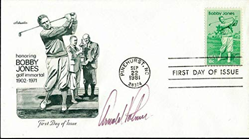 - Arnold Palmer Signed First Day Cover 9/22/1981 Pinehurst, NC 142523 - JSA Certified - Golf Cut Signatures