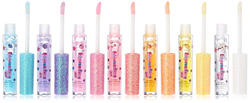 Liquid Strawberry Lip Gloss - Expressions Girl / 7-piece Flavored Lip Gloss Set 0.7 oz each