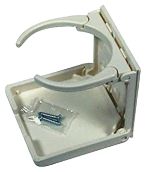 American Technology CH00100-WHT-1 THE MUGGER White HD Folding Cup Holder NOSYJ