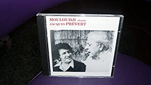 """Afficher """"Mouloudji chante Jacques Prévert"""""""