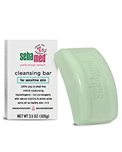 Sebamed Soap-free Cleansing Bar For Sensitive Skin, 3.5-Ounce Boxes (Pack of 4)