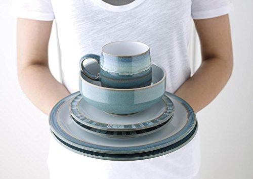 Denby Azure Soup/Cereal Bowls, Set of 4 by Denby (Image #2)