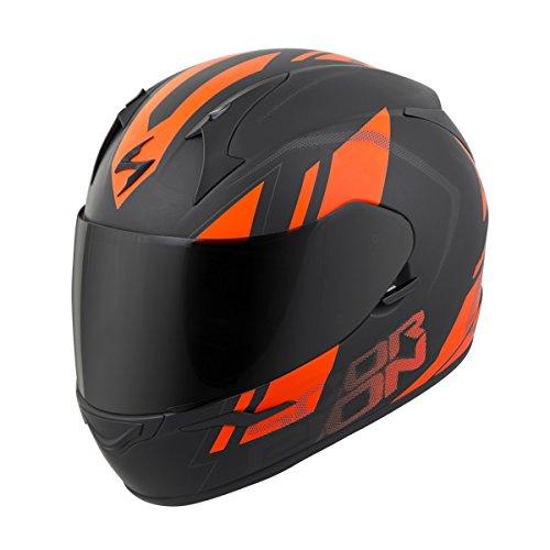 Scorpion EXO-R320 Helmet - Endeavor (LARGE) (BLACK/ORANGE)