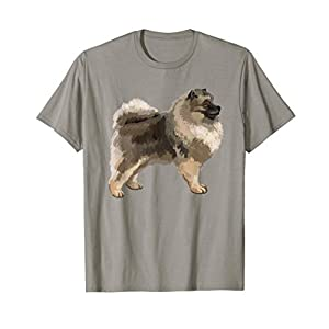Keeshond Dog T-shirt Tee Tees T Shirt Tshirt 1