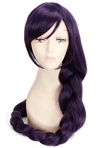 Nuoqi Sweet Anime Nozomi Tojo Costume Wig Purple Braids Cosplay Wig