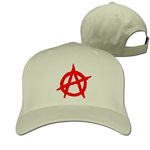 TLK Cool Anarchy Logo Unisex Trucker Hats Natural (Best Tattoo Parlors In The World)