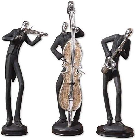 Uttermost 19061 Musicians Decorative Figurines, Set 3