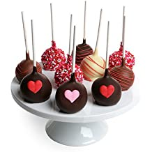 From You Flowers - Love Chocolate Cake Pops - 10 Pieces
