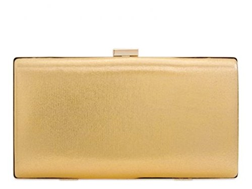 Chic Cute Suede Gold Clutch Women's Handbag 2239 Leather Faux LeahWard Og4wnf