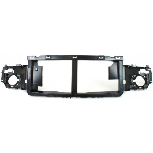 Header Panel Compatible with FORD F-SERIES SUPER DUTY 2005-2007 Grille Opening Panel Reinforcement ABS Plastic