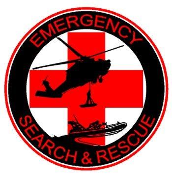 amazon com emergency search rescue decal sticker automotive
