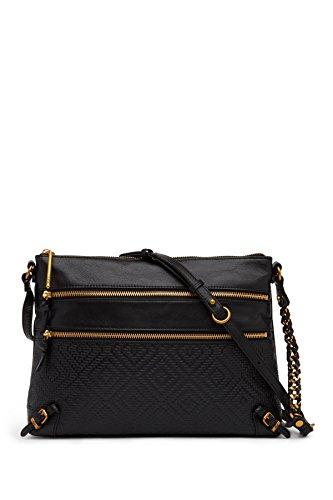 Elliott Lucca Messina 3-zip Clutch Crossbody Bag ()