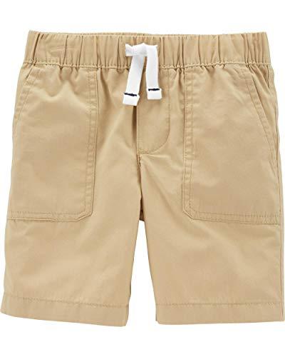 Carter Uniform - Carter's Little Boys' Pull-On French Terry Shorts (5T, Poplin/Khaki)