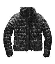 The North Face Women's Holladown Crop Jacket, TNF Black, XL