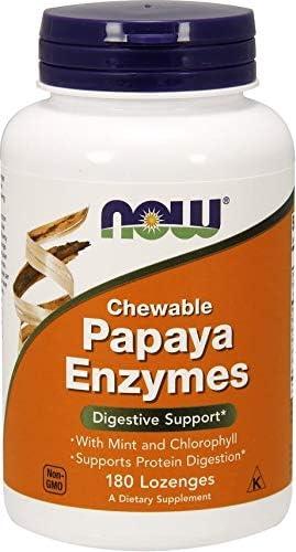 Now Foods Papaya Enzyme Chewable