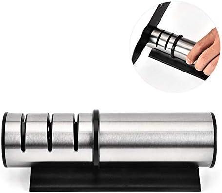 丈夫 ステンレス鋼のナイフ削り、クイックステンレス鋼のナイフ削り、多機能ナイフ削り、3つの銃剣実用的なナイフ削り キッチン
