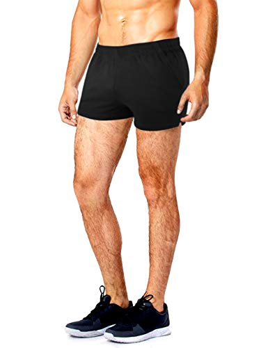 MUSCLE ALIVE Men's Running Shorts with Pockets 3