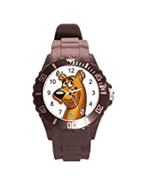 Scooby Doo Girls Brown Plastic Watch for Girls or Boys