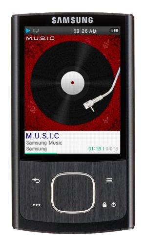 Samsung YP-RO 8GB MP3 Player (Black)